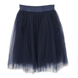 Donkerblauwe tule rok 60cm