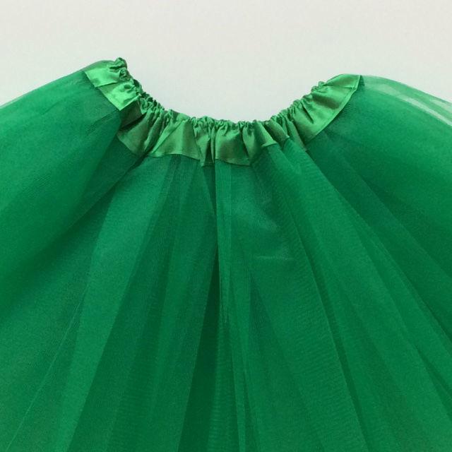 Groene tutu kind 30cm