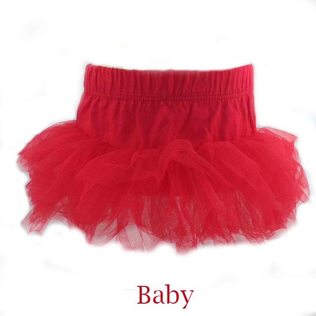 Baby tutu rood