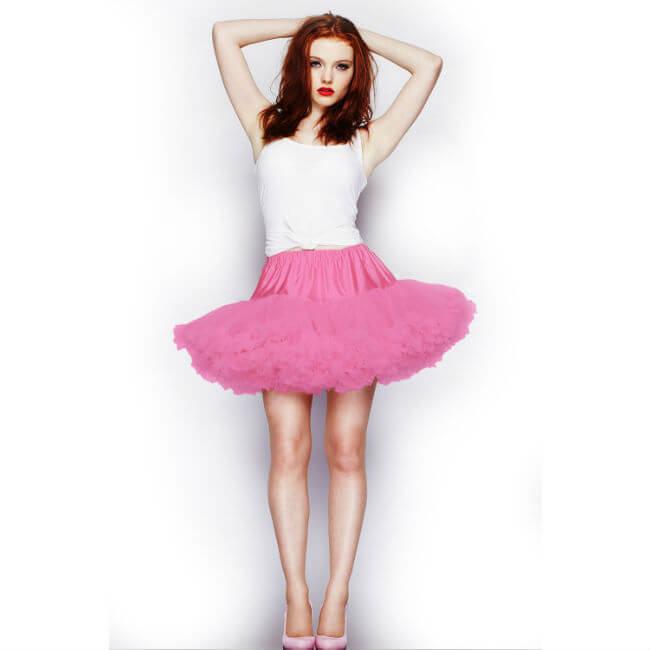Korte petticoat roze