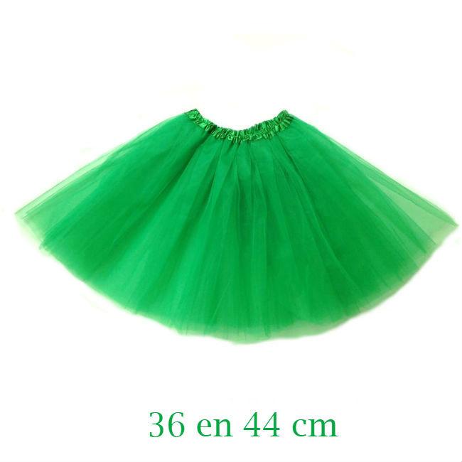 Groene tutu dames