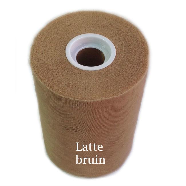 Tule rol latte bruin