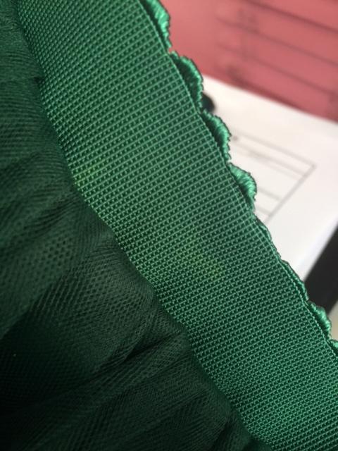 Tule rok Groen