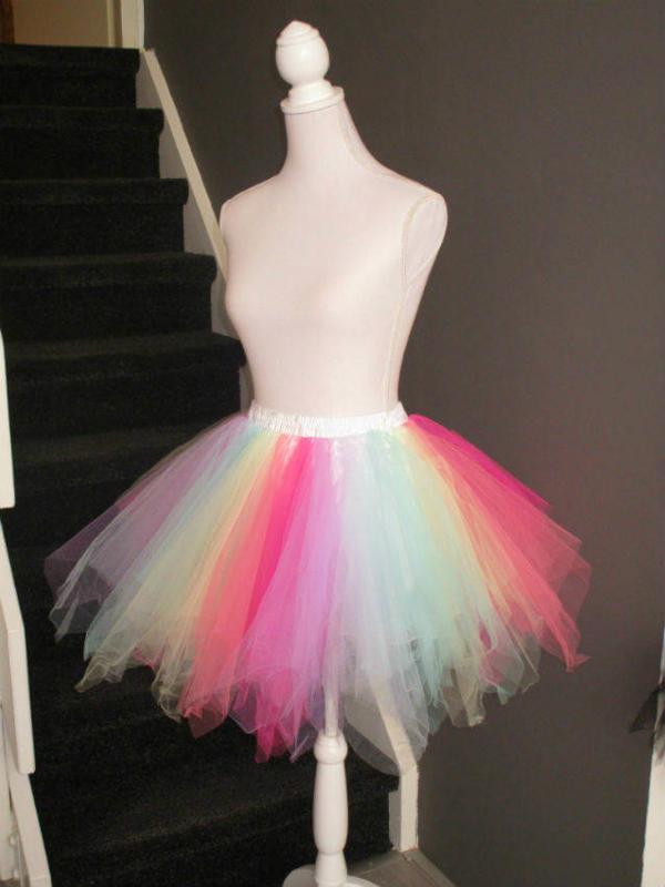 Super tutu pastel kleuren