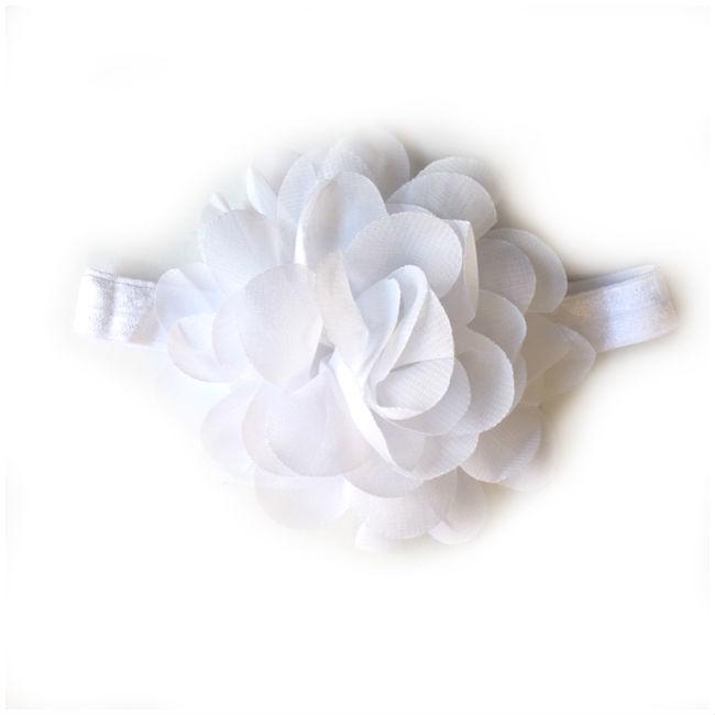 Wit baby tutu & haarband