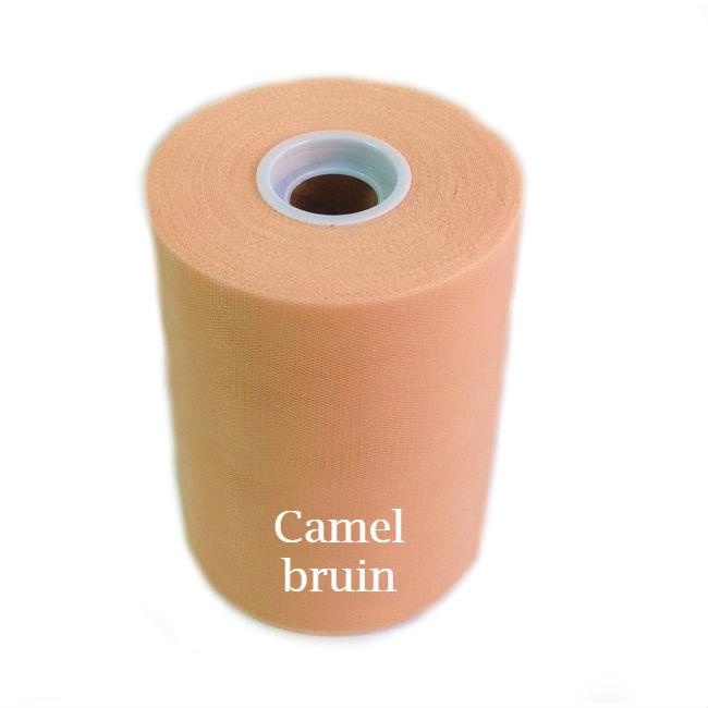 Tule rol camel bruin