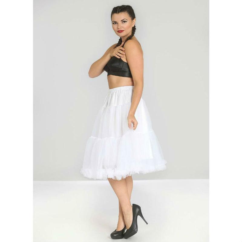 Petticoat wit dames