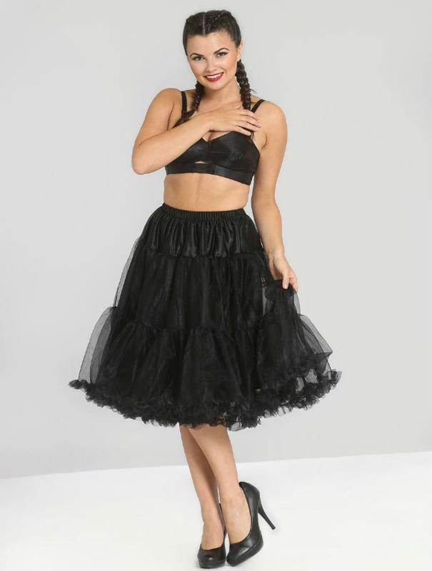 Petticoat zwart dames 3xl/4xl