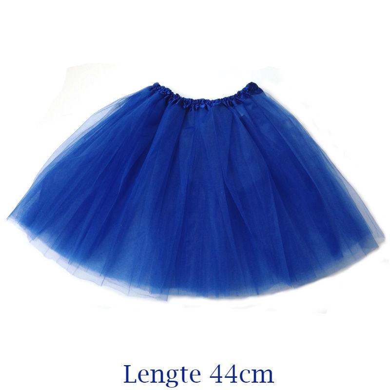 Blauwe tutu - 44cm