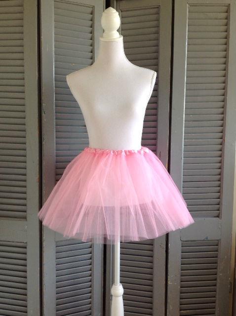 Roze tutu meisje 36cm