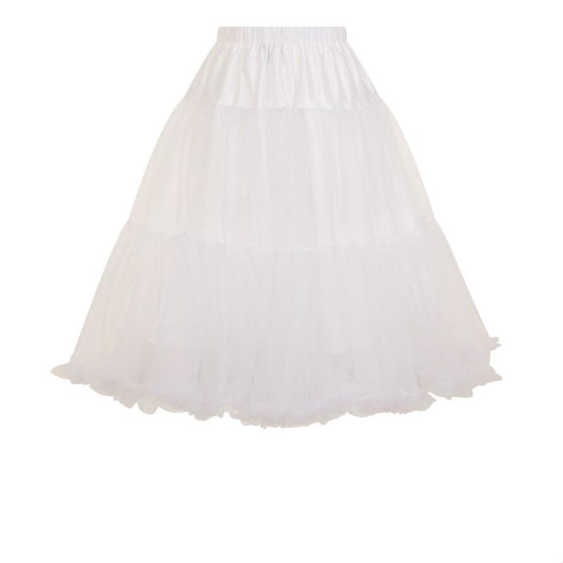 Petticoat wit dames 3xl/4xl