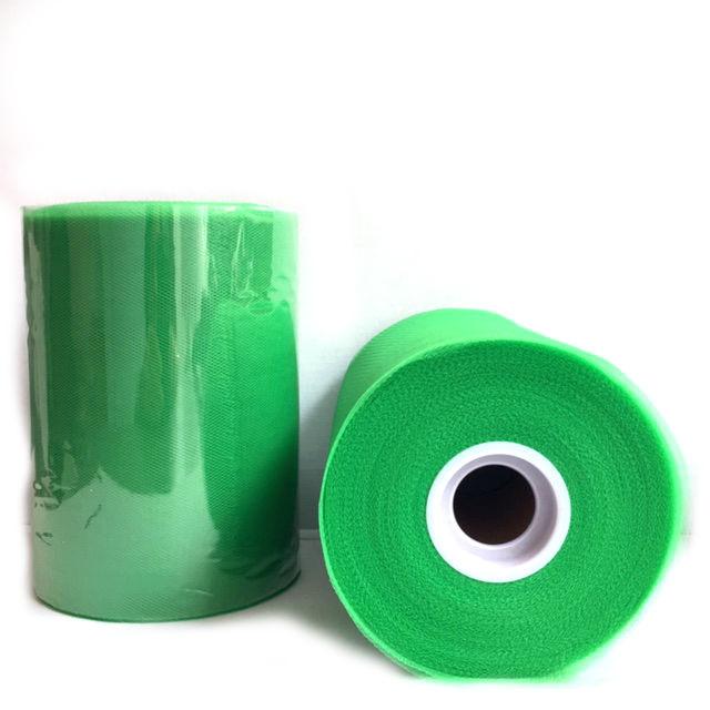 Tule rol groen