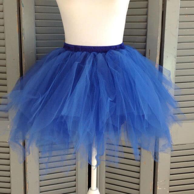 Super tutu blauw