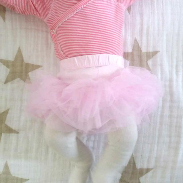 Baby tutu licht roze