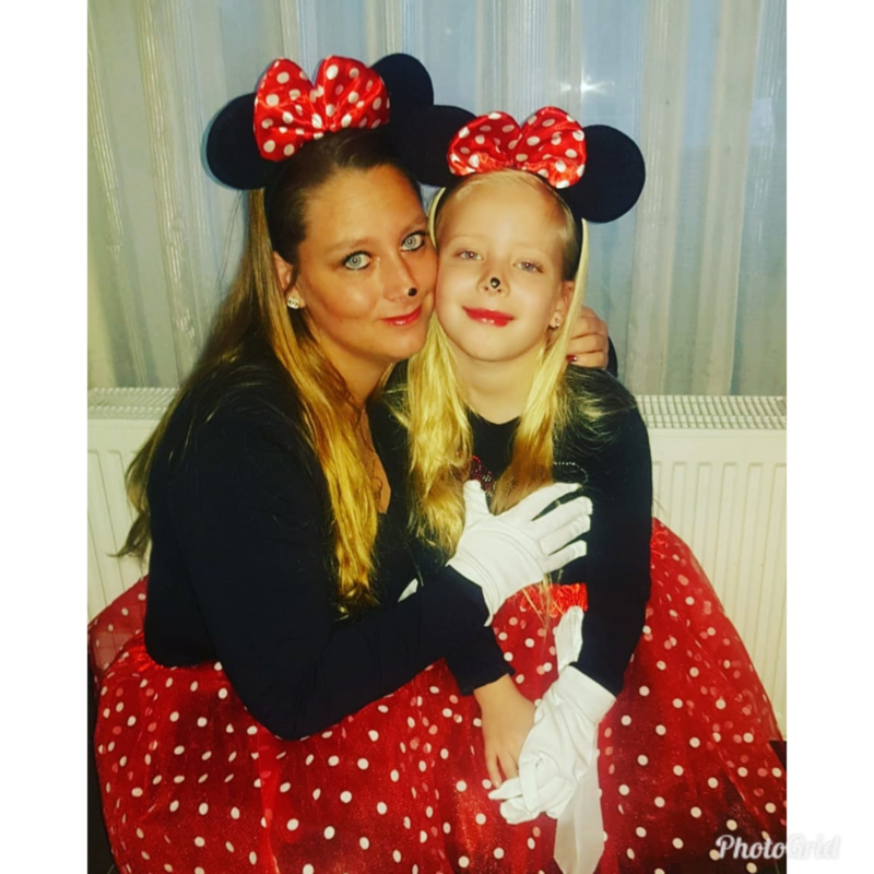 Minnie Mouse oren