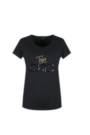 T-Shirt Daphne Zwart