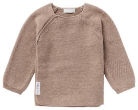 Noppies knit cardigan pino taupe 05