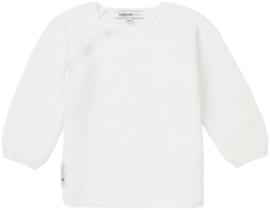 Noppies knit cadigan pino white 06