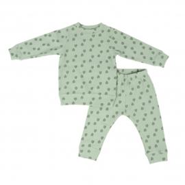 Lodger Pyjama Silt Green 10