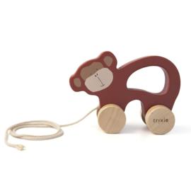 Trixie houten trekspeeltje mr. monkey 25