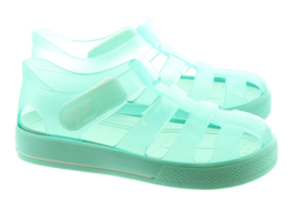 Igor waterschoen star brillo transparant aqua