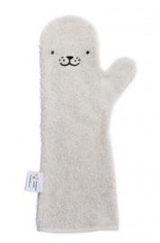 Shower Glove Grey Seal