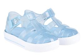 Igor waterschoen transparant licht blauw