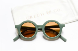 Grech & Co zonnebril green 'fern' 01