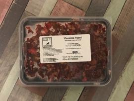 Vlees mix paard - 500, 1000 of ca. 1250 gram (grootverbruik)