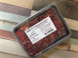 Vlees mix kalkoen compleet - 500, 1000 of 1250 gram (grootverbruik)