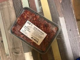 Vlees mix eend compleet - 500, 1000 of 1250 gram (grootverbruik)