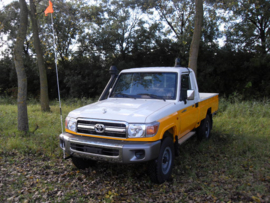 Toyota Landcruiser Pick-UP Mining Specifications