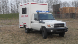 Toyota Land Cruiser HZJ79 ambulance