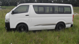 Toyota Hiace Commuter 2.5TD 15 Seater Standard Roof M/T