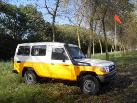 Toyota Landcruiser HZJ78 Mining Specifications