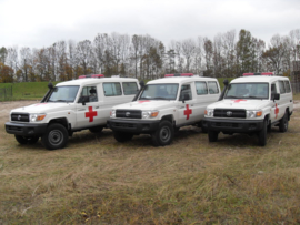 Toyota Land Cruiser HZJ78 ambulance