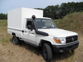 Toyota Landcruiser Pick-UP mobile workshop