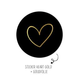 500 stickers | Heart