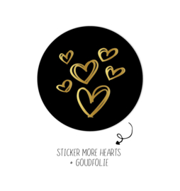 500 stickers | More Hearts