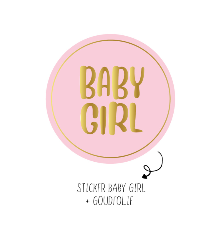 500 stickers | Baby girl
