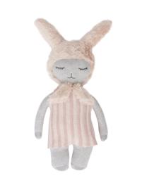 Oyoy - Hopsi bunny doll grey rose
