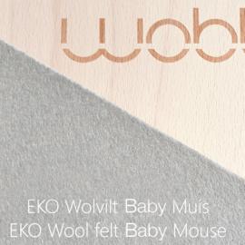 Wobbel - Original transparant baby mouse