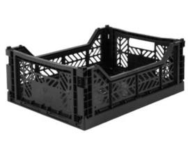Aykasa folding crate midi - Black