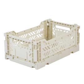 Aykasa folding crate mini - Coconut white