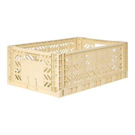 Aykasa folding crate maxi box - Banana