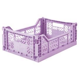 Aykasa folding crate midi - Lavender