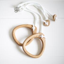 Lillagunga rings - Oak white