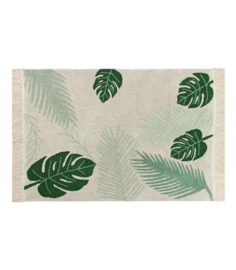 Lorena Canals vloerkleed - Tropical green