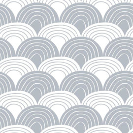 Swedish linens - Rainbow tranquil gray 60x120
