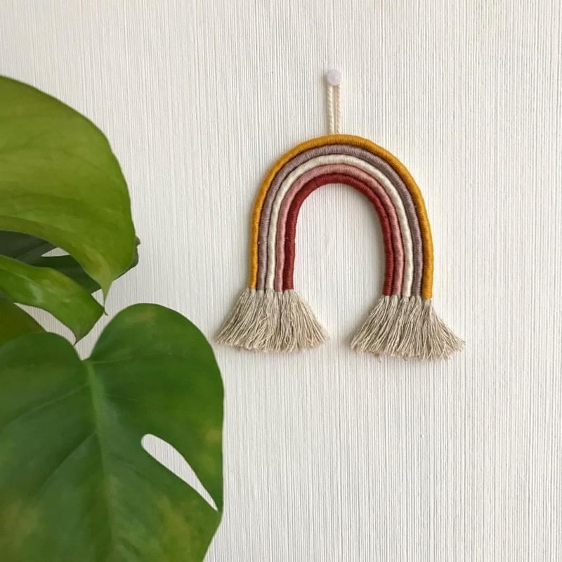 Cotton design - Rainbow indian summer
